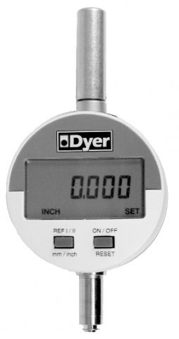 """Dyer Gage 901 Series, 0-1""""/25mm Electronic Indicator 901-101"""