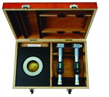 """Mitutoyo Digimatic Holtest Set, 3-4""""/76.2-101.6mm, 468-990"""