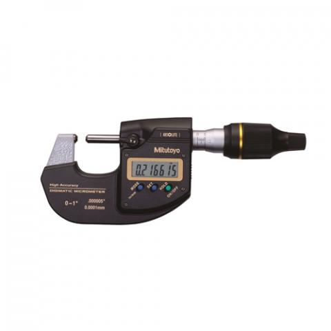 """Mitutoyo 1""""/25.4mm MDH Digimatic Outside Micrometer 293-130"""