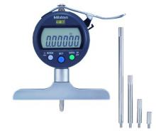 """Mitutoyo 8""""/200mm ABSOLUTE Digimatic Depth Gage, 547-258S"""